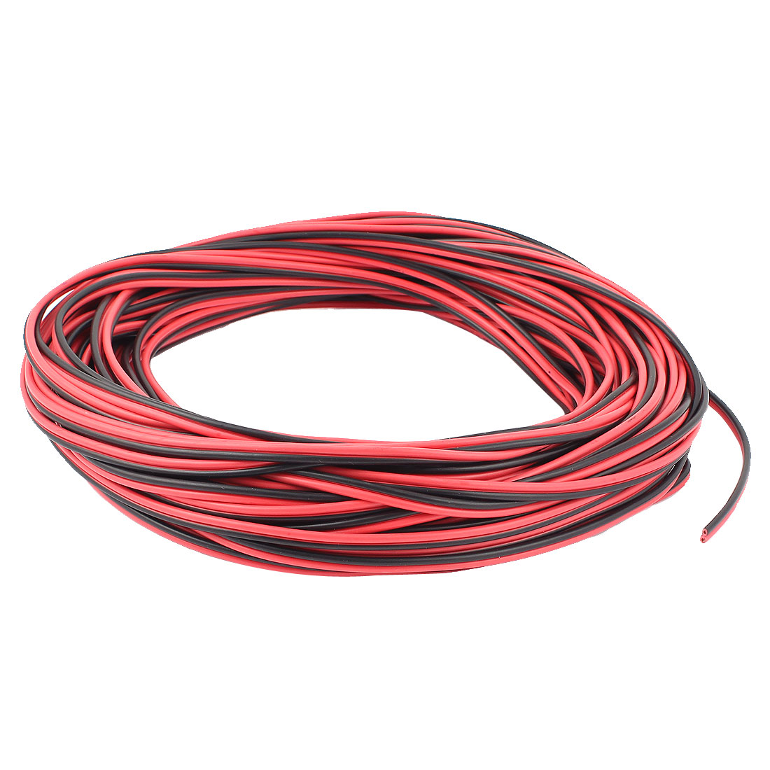 AC 220V 30M PVC Stranded Gauge Electronic Wire Black Red