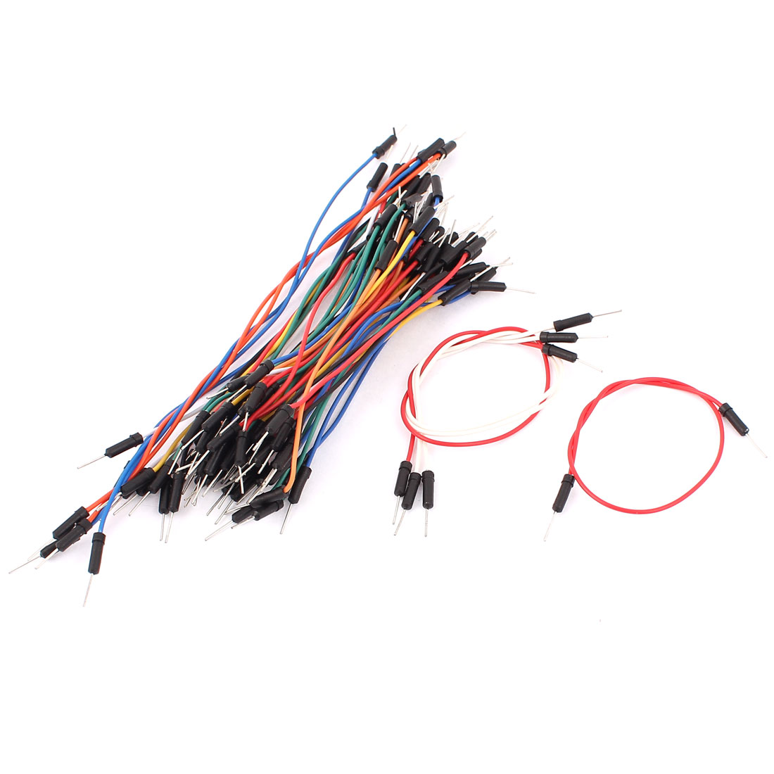 65Pcs Male to Male Solderless Flexible Breadboard Jumper Wire Cable