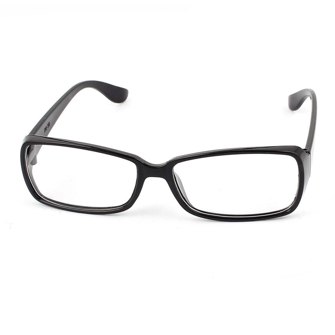 Unisex Clear Lens Spectacles Eyeglasses Eye Wear Plain Glasses Black