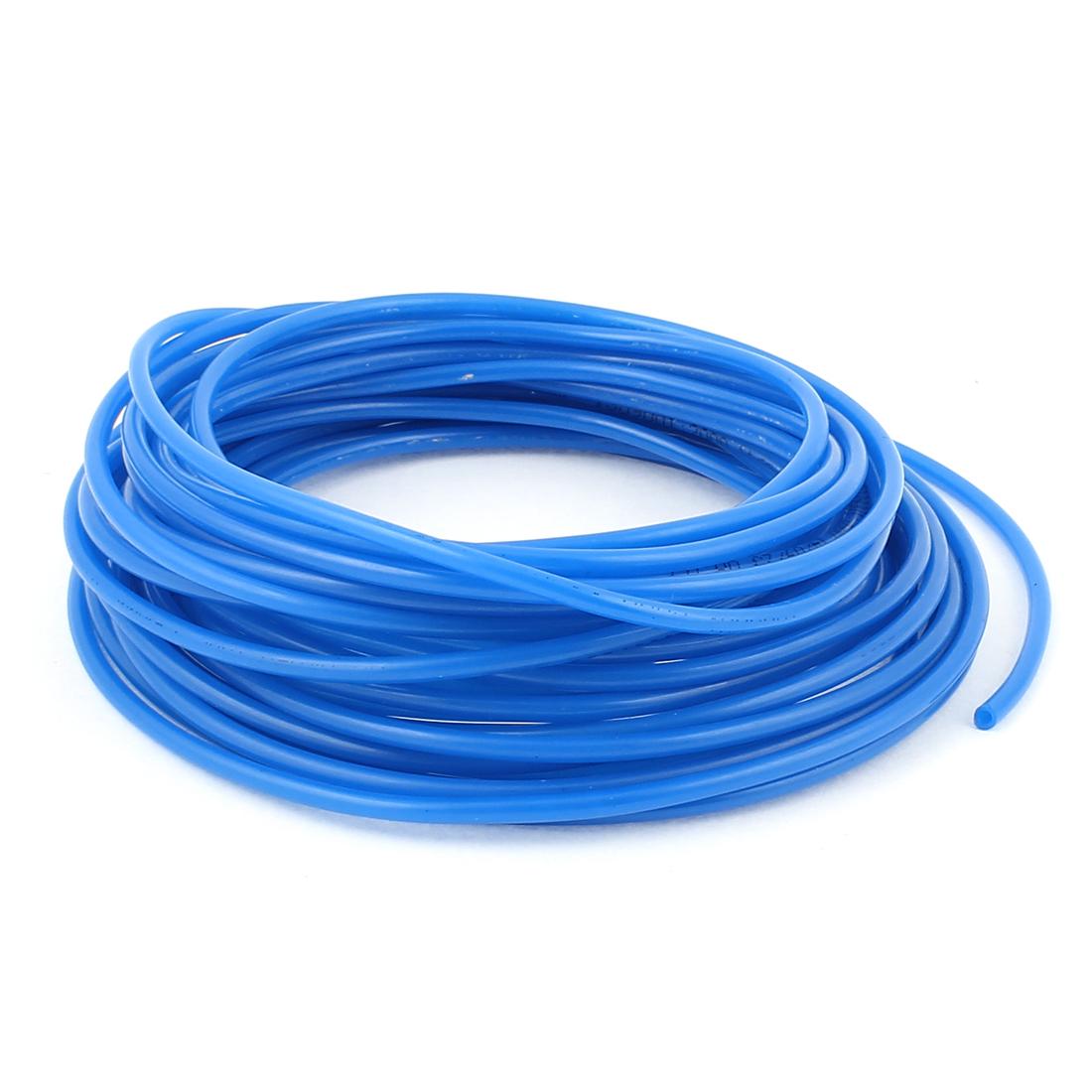 4mm x 2.5mm Pneumatic Air Compressor Tubing PU Hose Tube Pipe 10M Blue