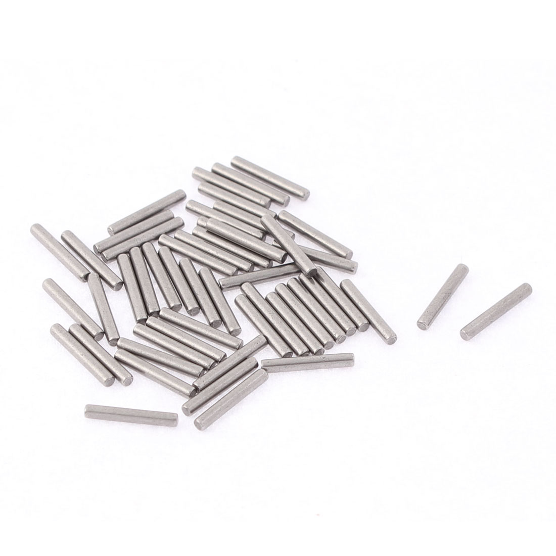 M1.5x10mm Stainless Steel Straight Retaining Dowel Pins Rod Fasten Elements 50pcs