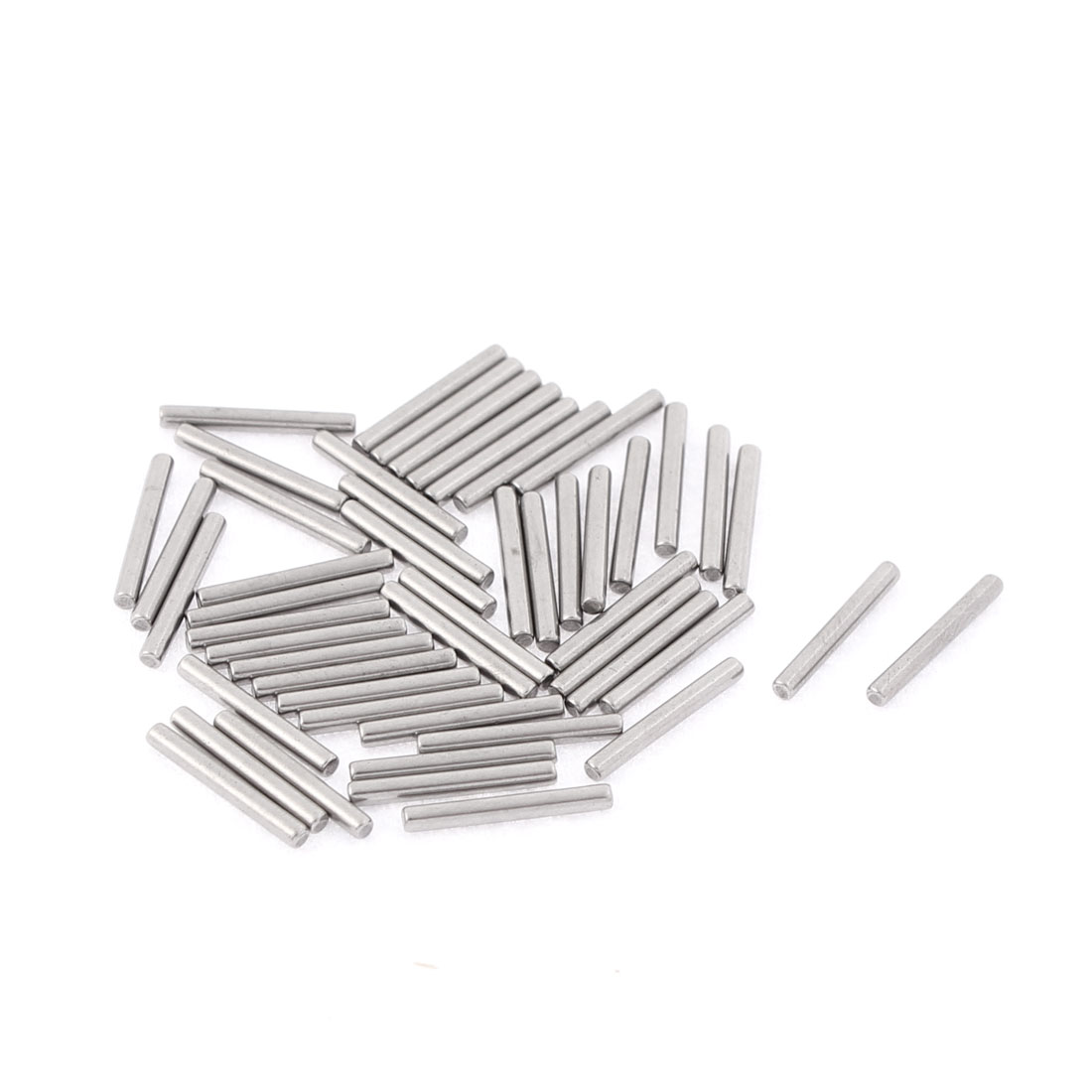 M1.5x12mm Stainless Steel Straight Retaining Dowel Pins Rod Fasten Elements 50pcs