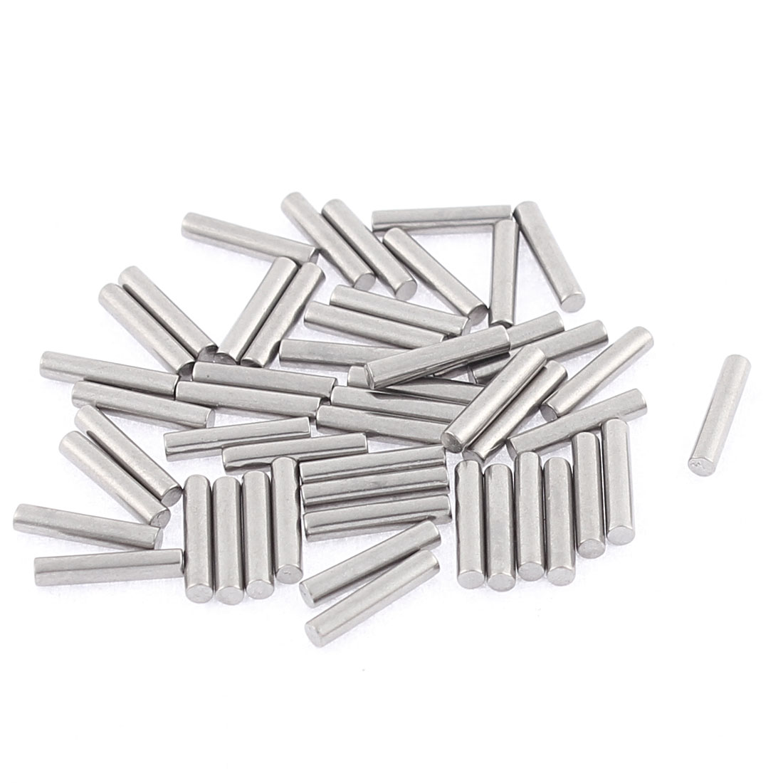 M2x10mm Stainless Steel Straight Retaining Dowel Pins Rod Fasten Elements 50 Pcs