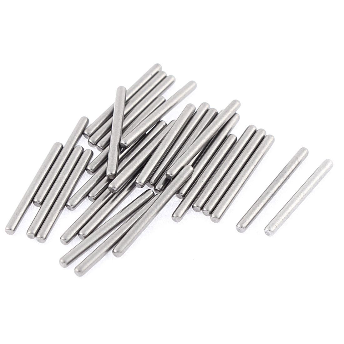 M2x22mm Stainless Steel Straight Retaining Dowel Pins Rod Fasten Elements 30 Pcs