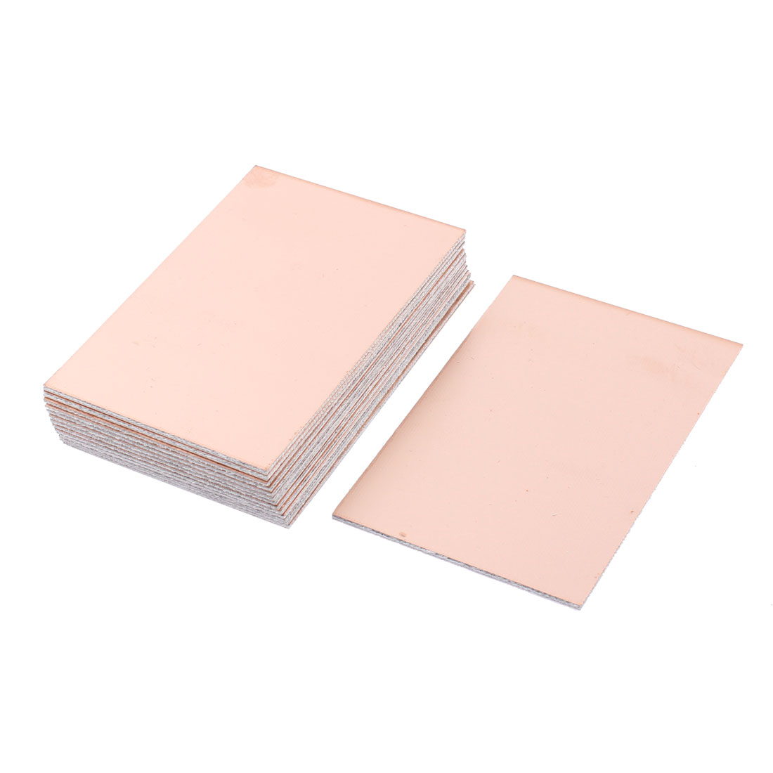 15 Pcs FR-4 Copper Clad Double Side PCB Laminate Board 100mmx70mm 1.6mm