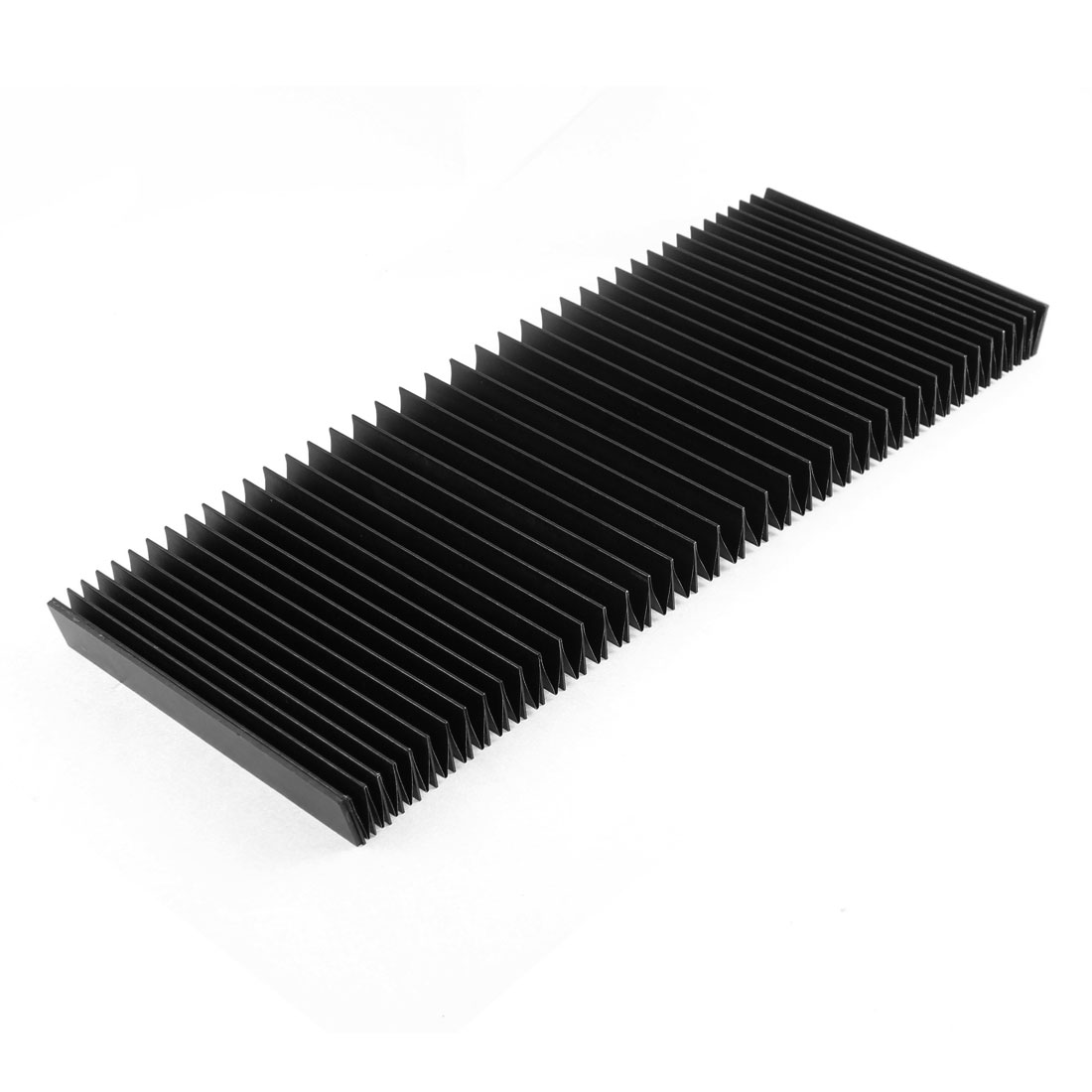 Protective Synthetic Rubber Rectangle Accordion Dust Cover 120cmx14cmx2cm