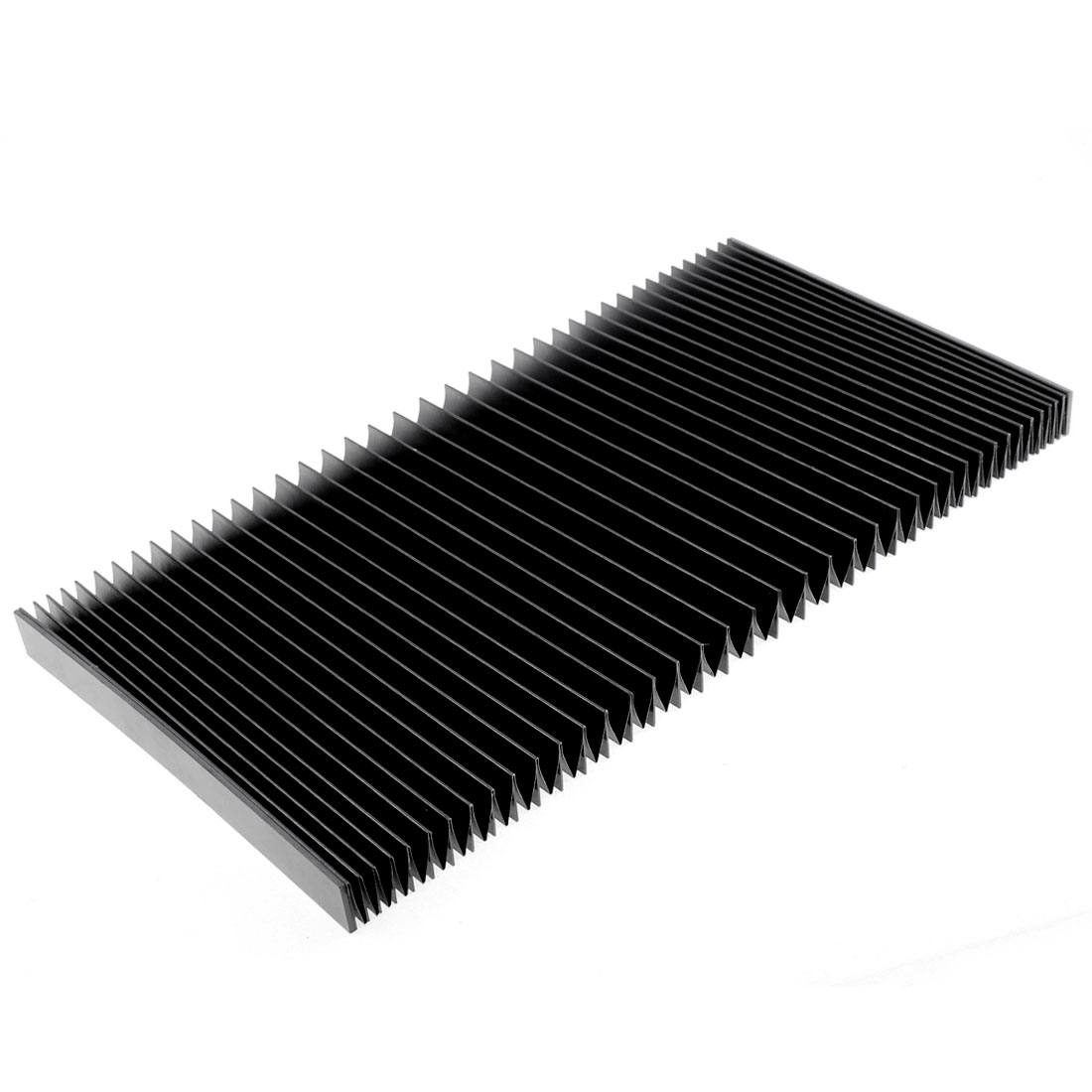 Protective Synthetic Rubber Rectangle Accordion Dust Cover 120cmx19cmx2cm