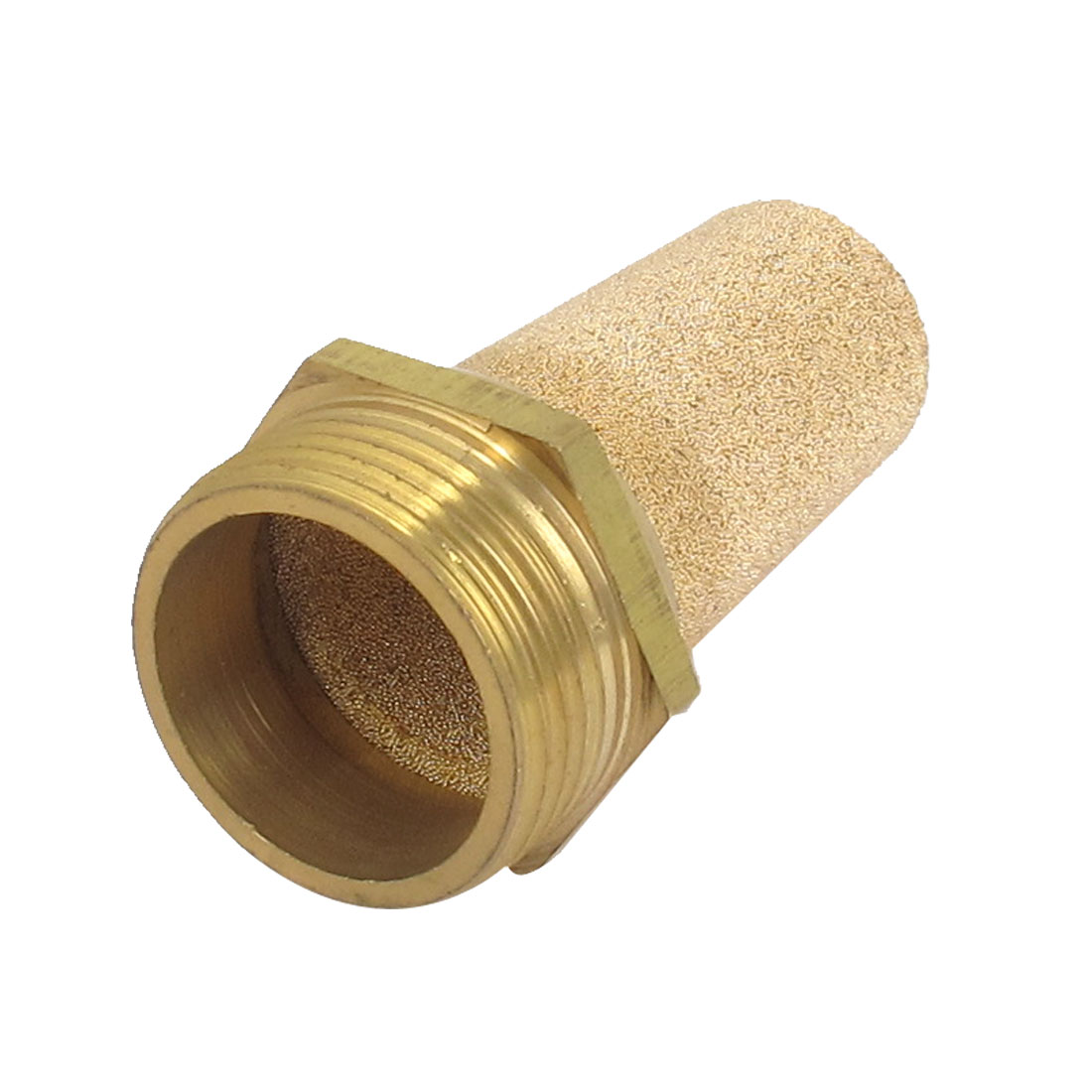 1BSP Thread Fitting Sintered Bronze Pneumatic Air Exhaust Silencer Muffler