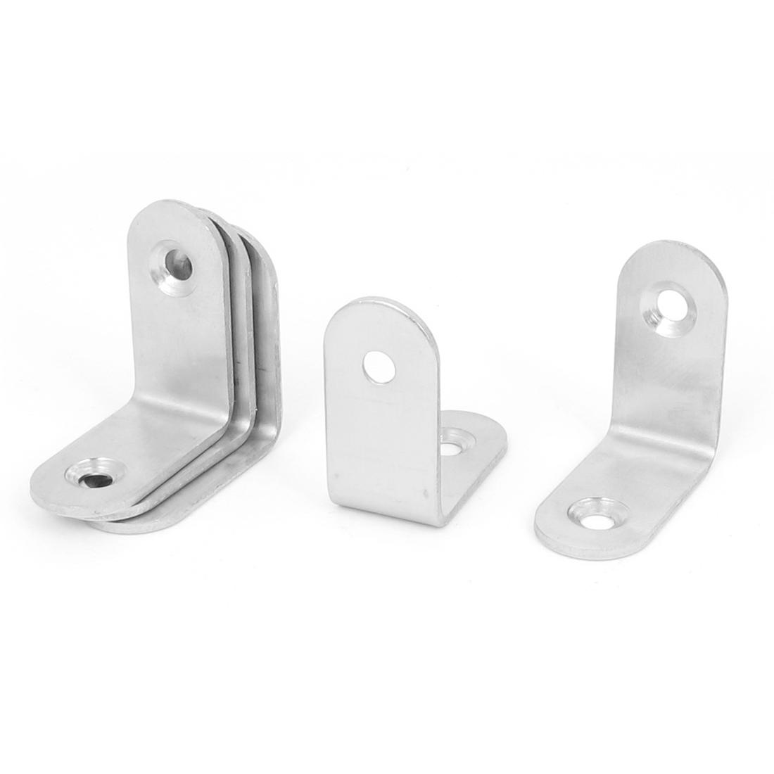 30mmx30mm L Shape 90 Degree Shelf Corner Brace Repair Right Angle Bracket 5pcs