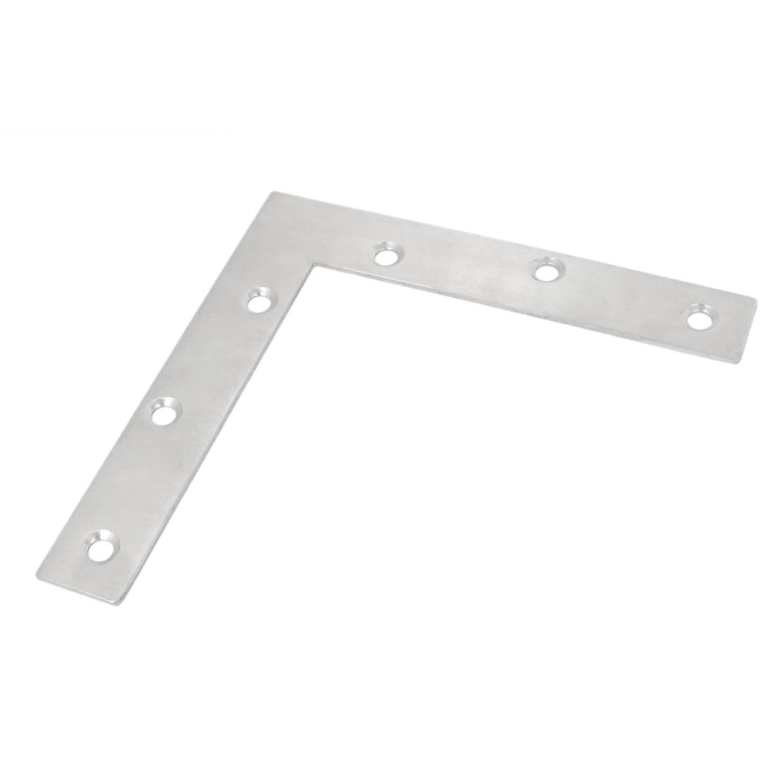 150mmx150mm Flat L Shape Corner Brace Mending Plate Right Angle Bracket