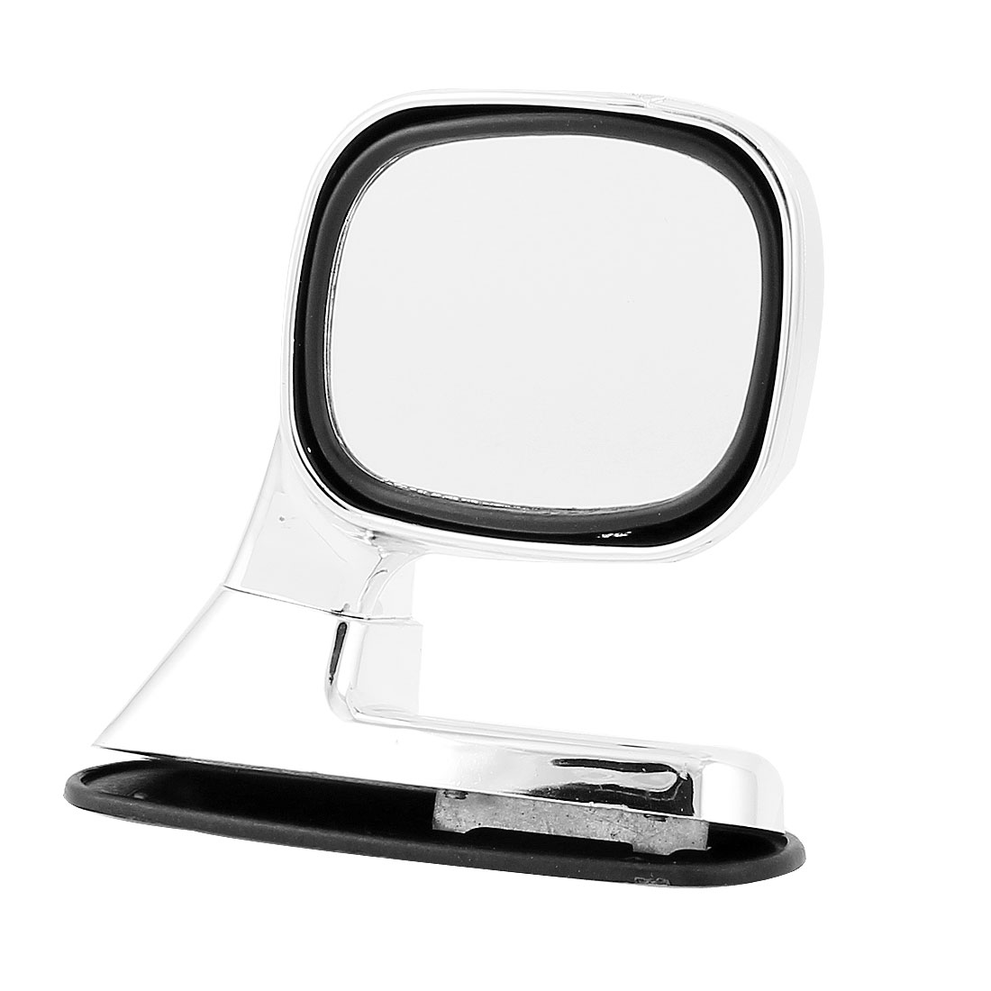 Auto Car Sideview Assistant Rotatable Right Hand Rear View Mirror Silver Tone