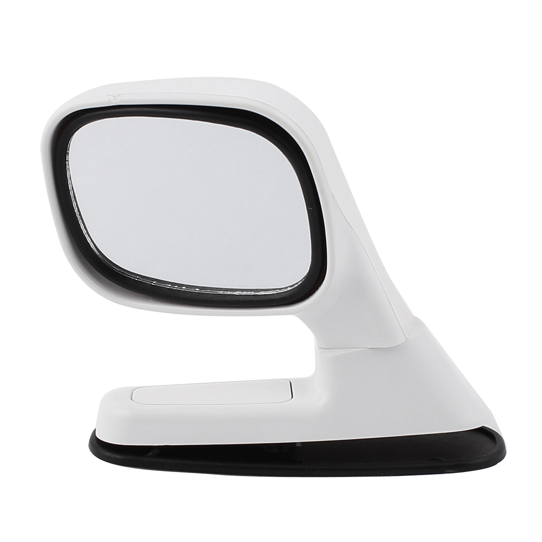 Auto Car Driver Sideview Assistant Rotatable Left Hand Rear View Mirror White