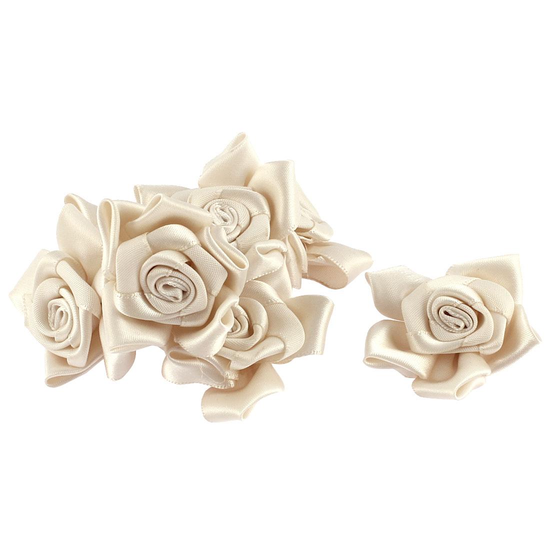 Party Wedding Bride Veil Dress Decorative Headwear Artificial Flower 7pcs