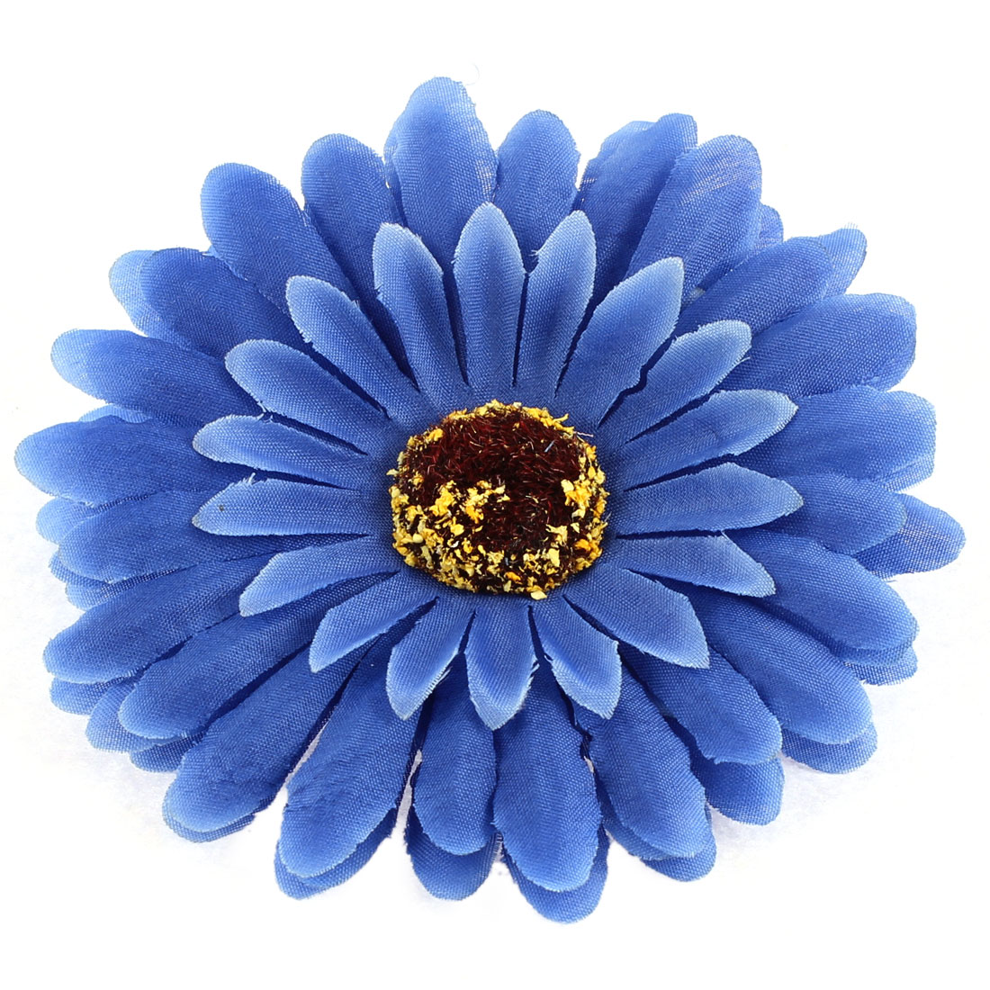 "Party Wedding Bride Artificial Daisy Flower Headwear Accessary 4"" Dia Blue"