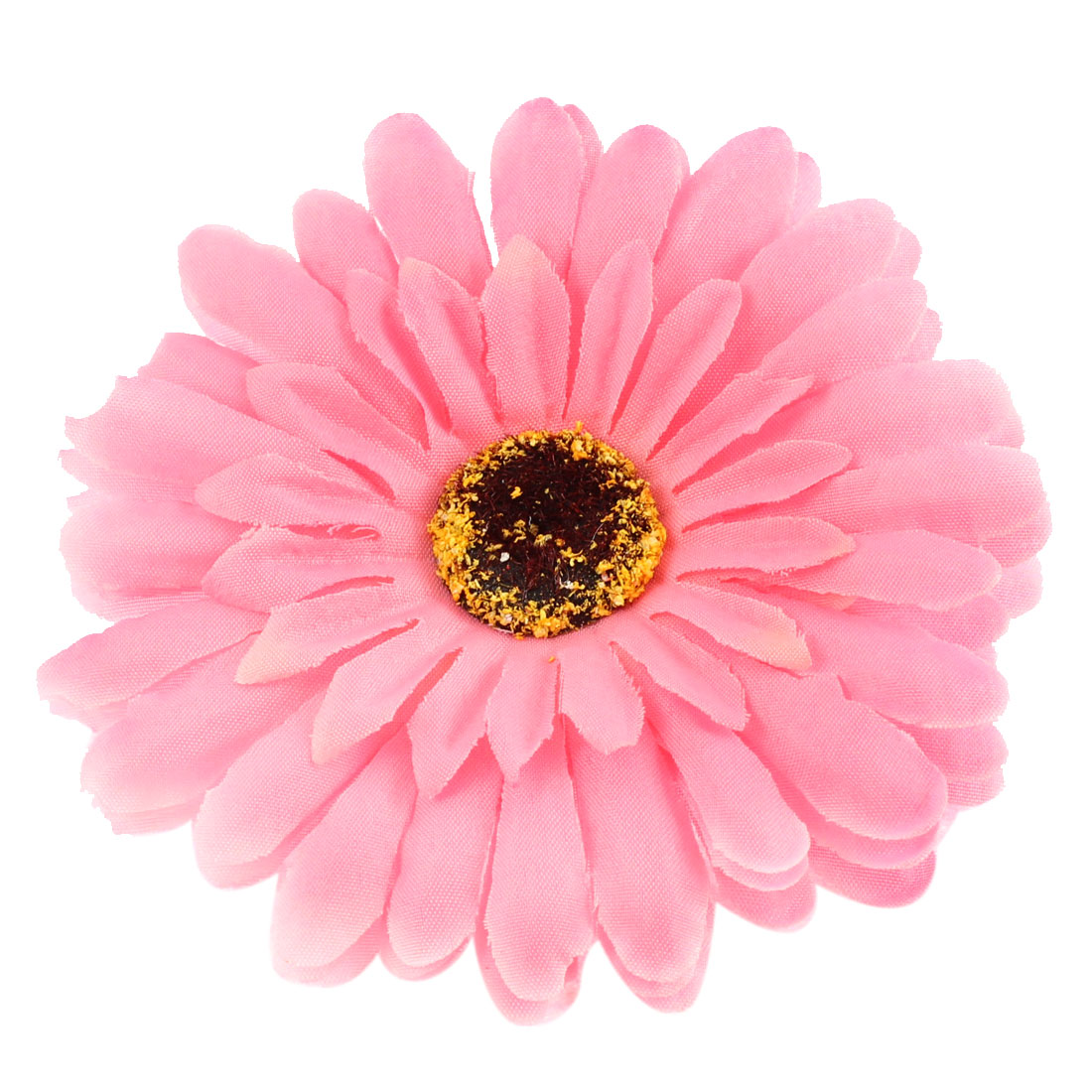 "Party Wedding Bride Artificial Daisy Flower Headwear Accessary 4"" Dia Pink"