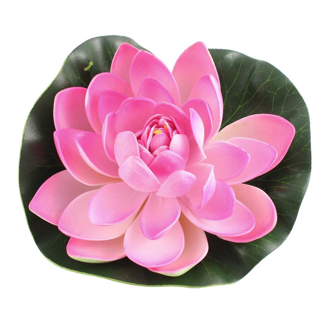 Aquarium Fish Tank Foam Simulated Lotus Water Plant Decoration Pink
