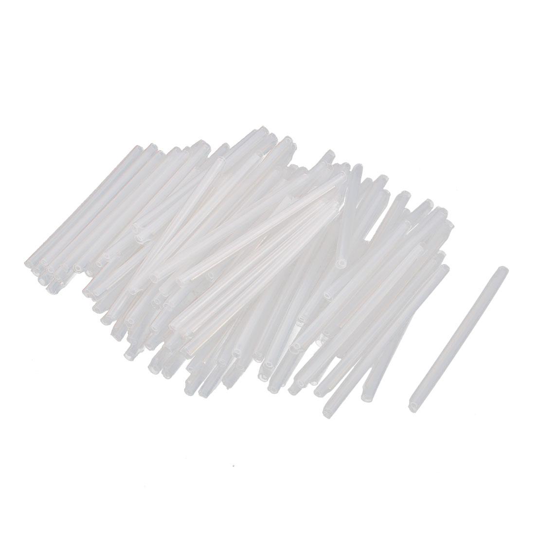 100 Pcs Fiber Optical Protective Sleeve Splicing Tube 58mm Long