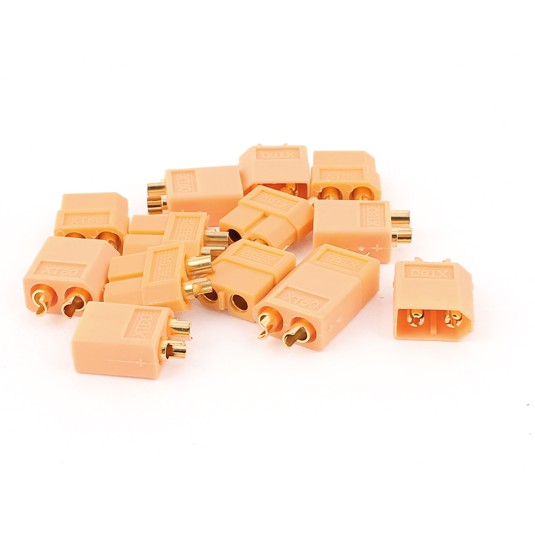RC Aircraft Airplane Model Battery XT60 Male + Female Connector Yellow 7Pairs