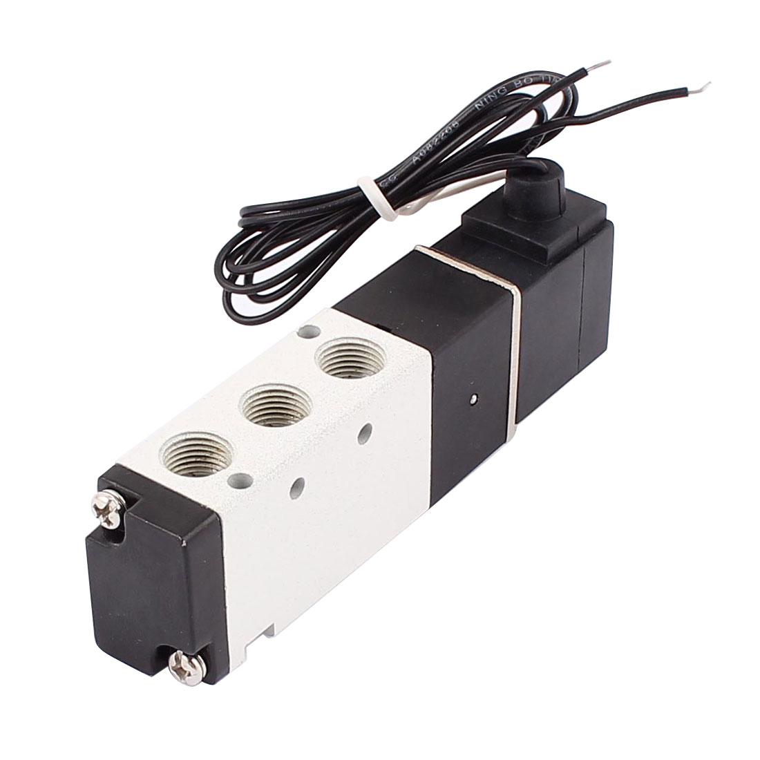 4V110-06 DC 24V 1.5-8Kgf/cm2 5 Way 2 Position 1/8BSP Thread Air Gas Pneumatic Solenoid Valve
