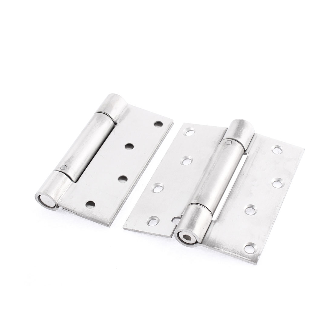 Hardware Door Butt Hinge Silver Tone 4 Inches Long 2Pcs