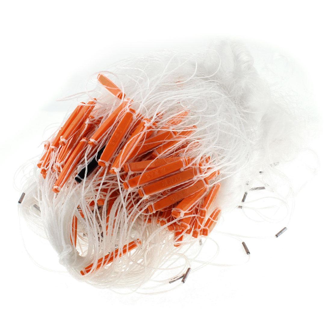 Plastic Floater Nylon Knotting Mesh Fishing Net 60M x 2M