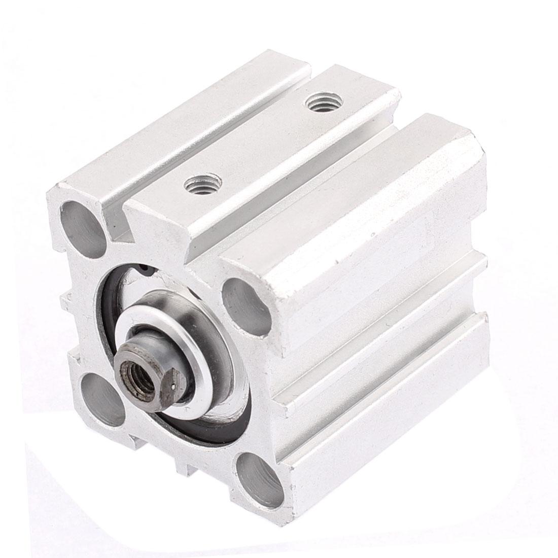 Pneumatic 25mm Bore 20mm Stroke Single Rod Aluminum Alloy Air Cylinder