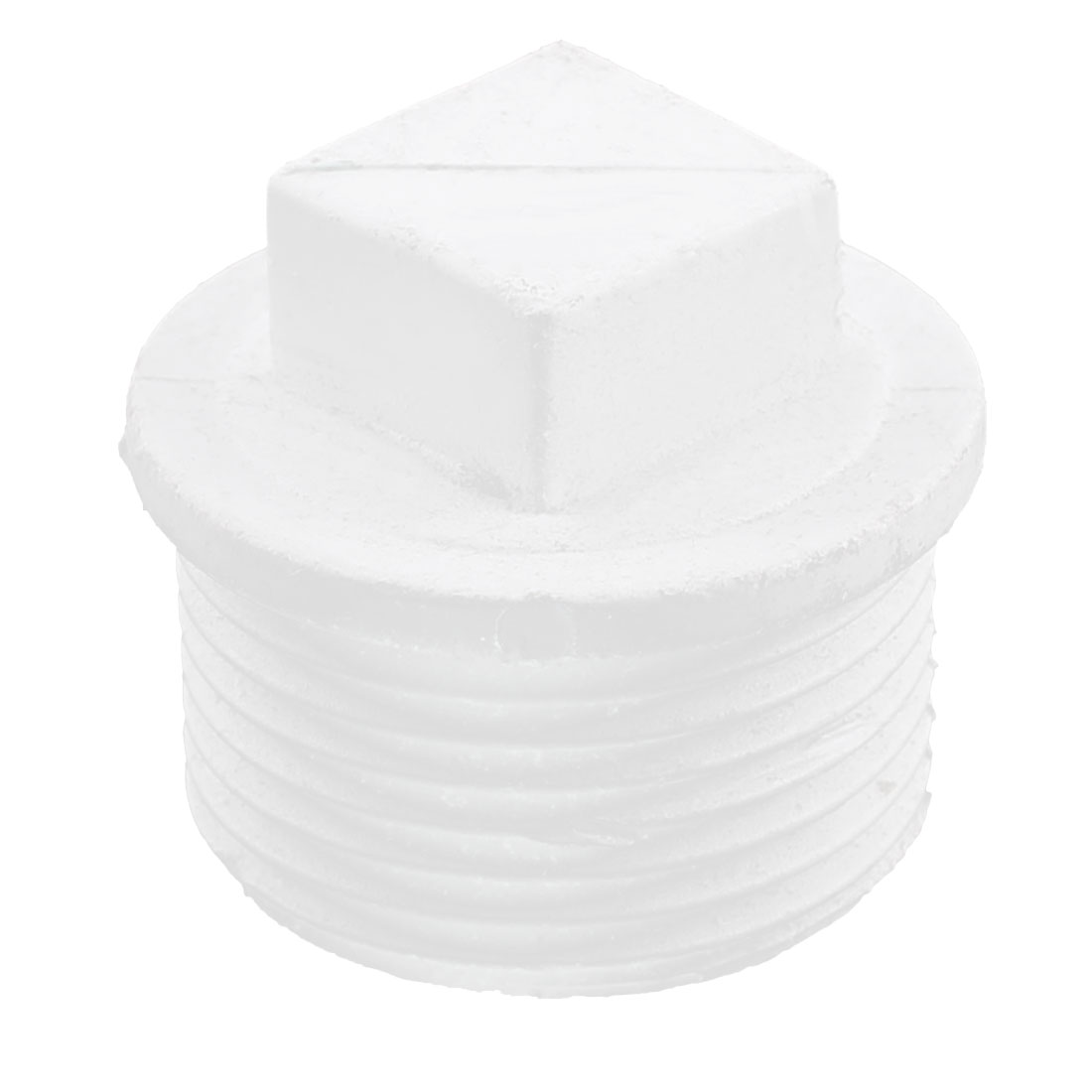 3/4BSP Male Thread Dia White PPR Pipe Tube Adapter Connectors