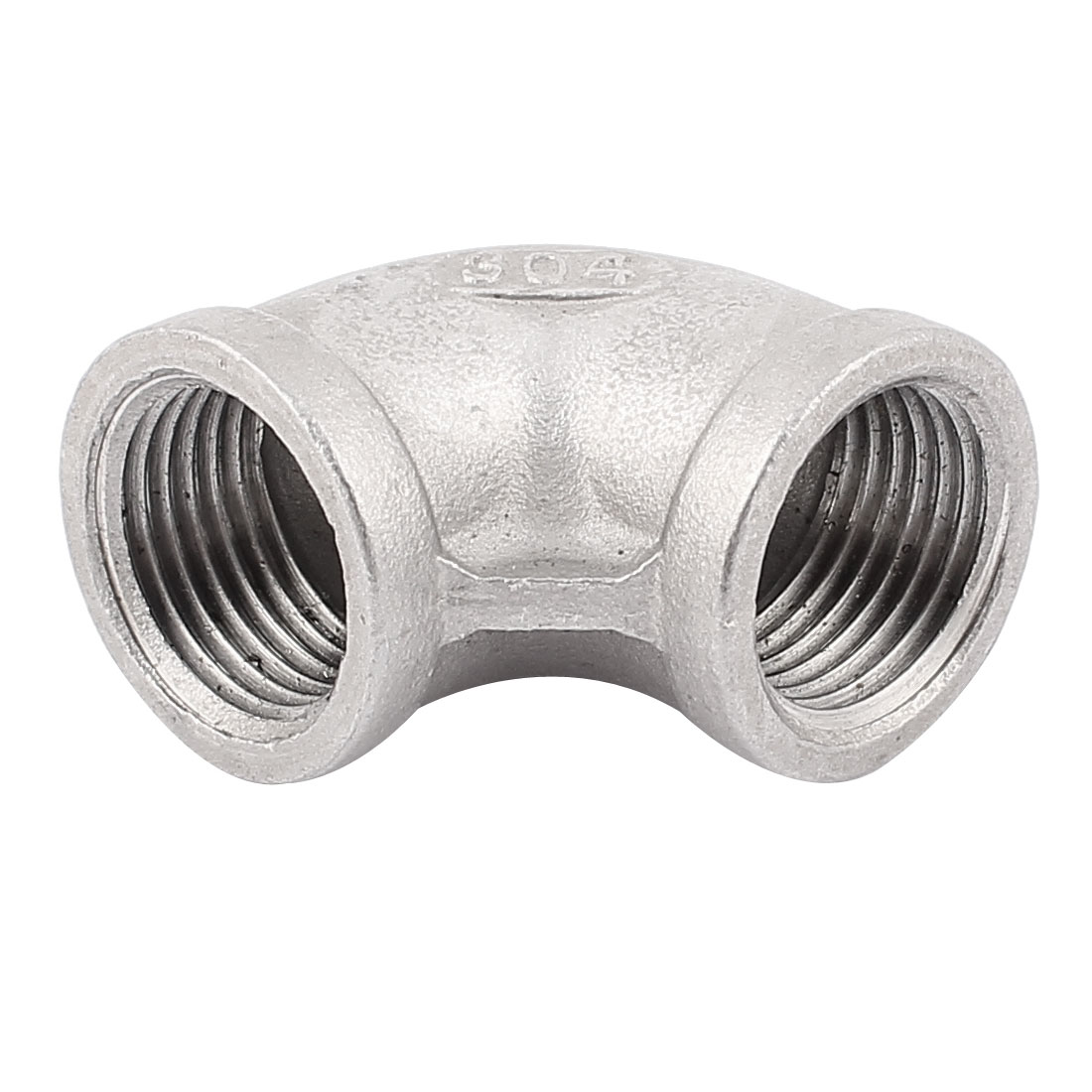 1/2BSP Female 304 Stainless Steel 90 Degree Equal Elbow Pipe Fitting Connector