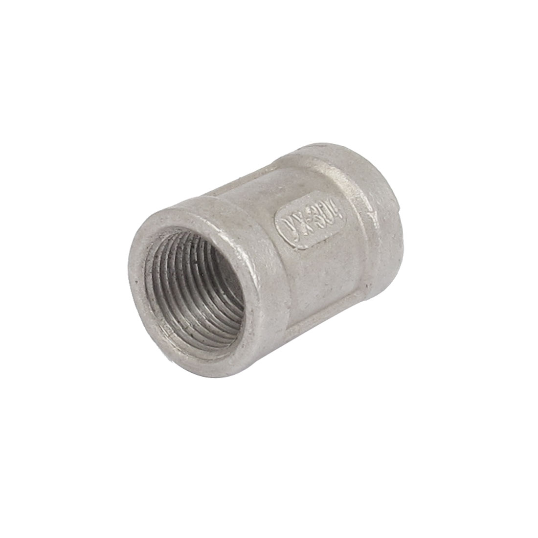 3/8BSP Female Threaded 304 Stainless Steel Pipe Coupling Fitting Connector