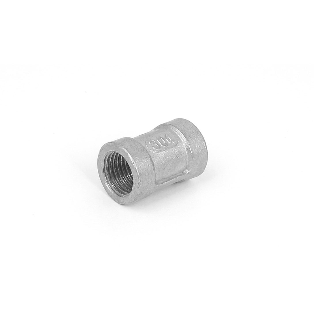 1/4BSP Female Threaded 304 Stainless Steel Pipe Coupling Fitting Connector