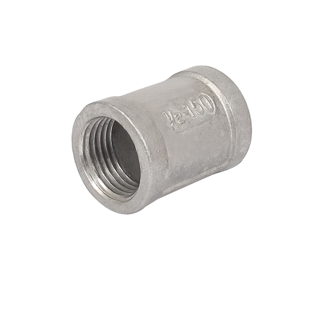1/2BSP Female Threaded 304 Stainless Steel Pipe Coupling Fitting Connector