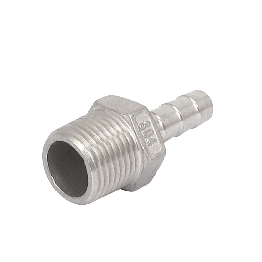 1/2BSP Male Thread to 10mm Hose Barb Straight Quick Fitting Adapter Coupler