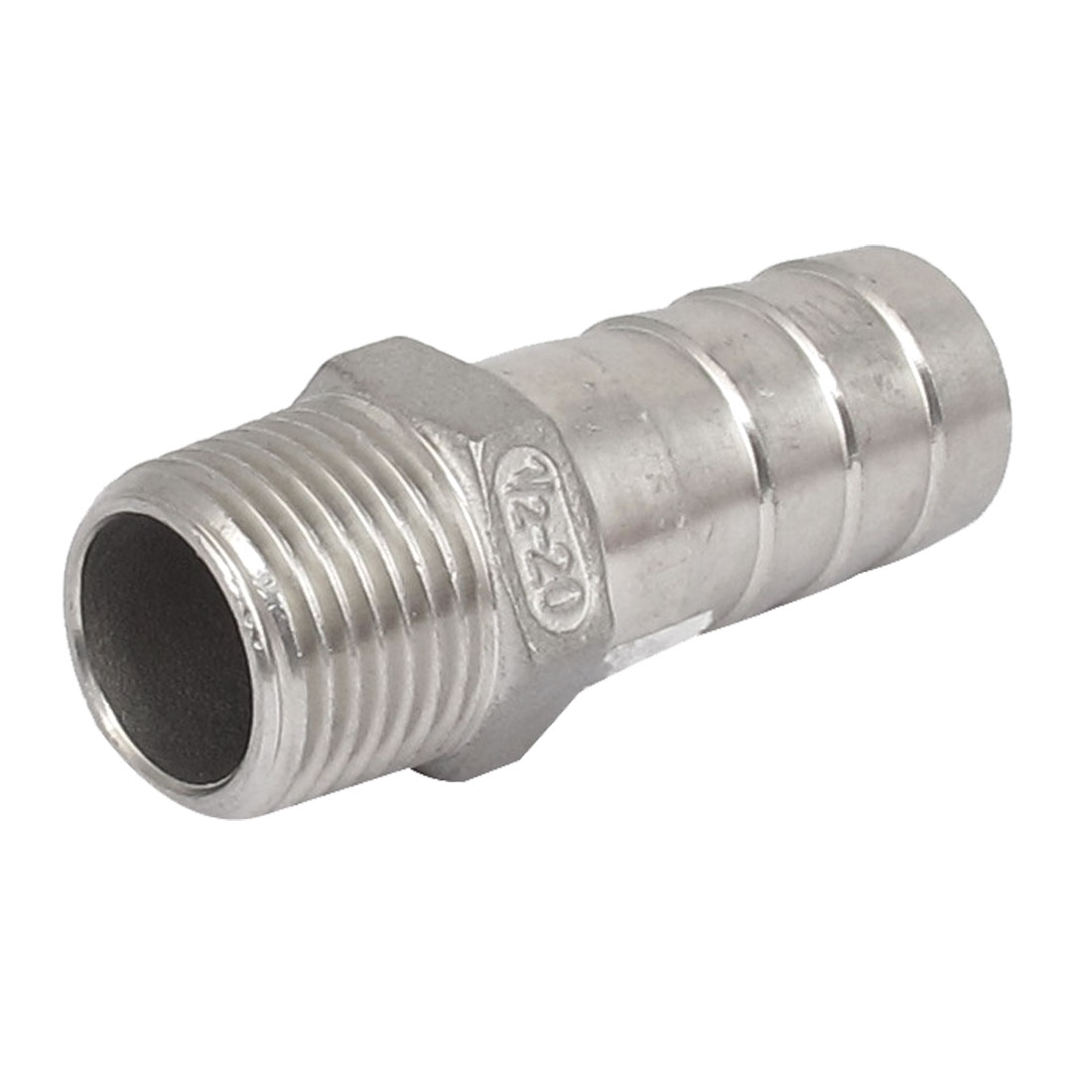 1/2BSP Male Thread to 20mm Hose Barb Straight Quick Fitting Adapter Coupler