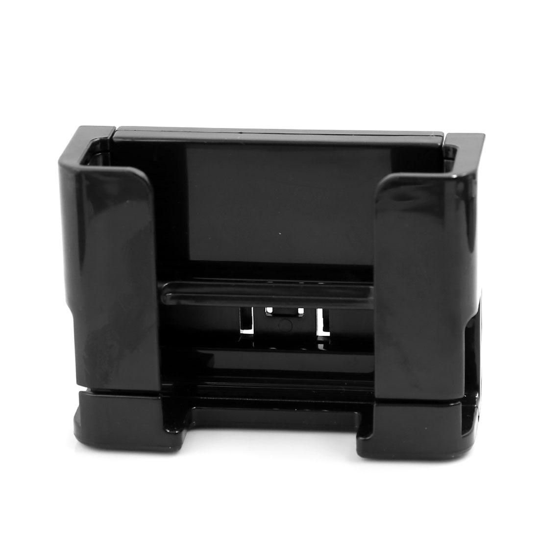 Black Plastic Smartphone MP5 Holder Mount on Car Windshield Dashboard Bracket
