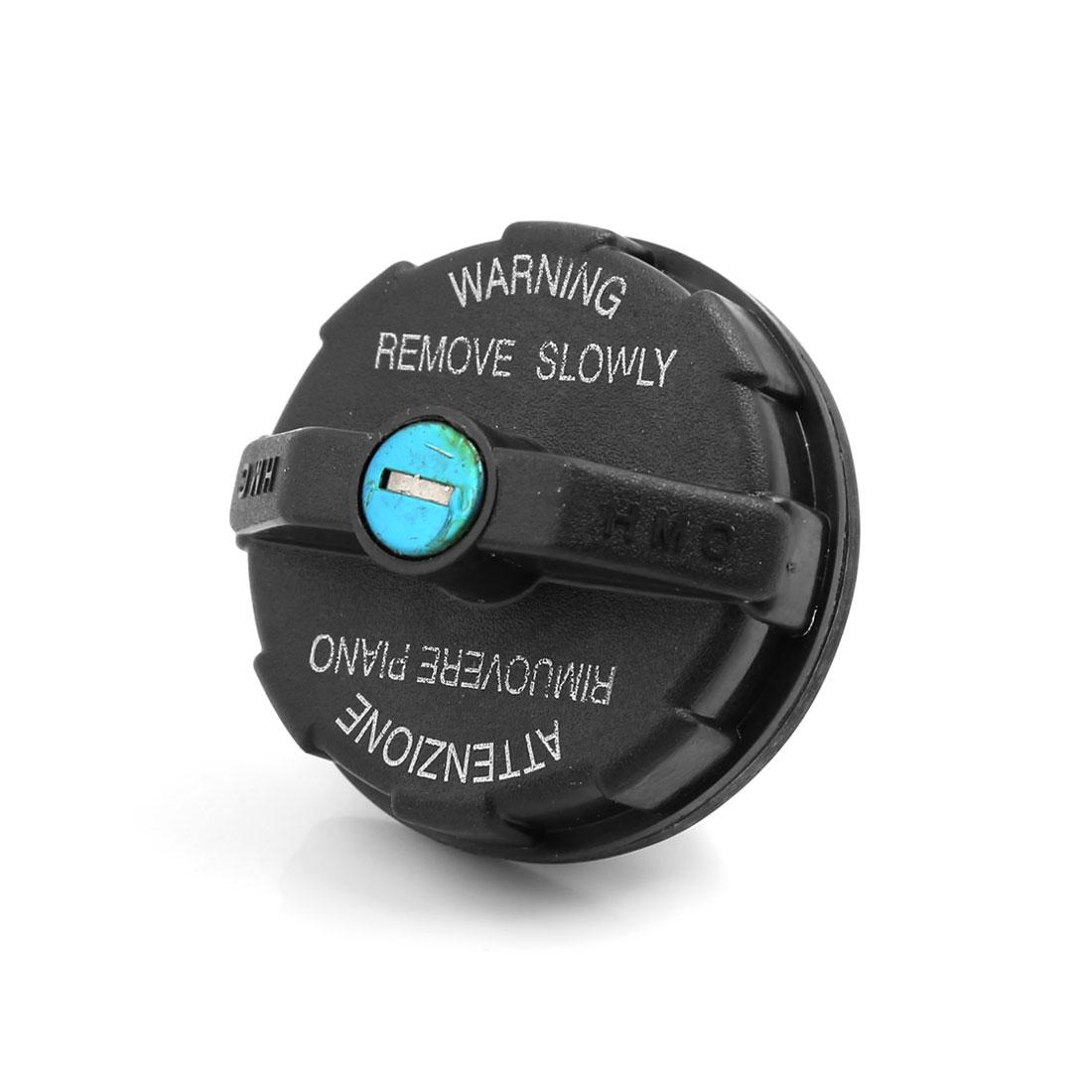 Universal Plastic Metal Machine Gas Tank Generator Car Oil Fuel Cap Cover w Keys