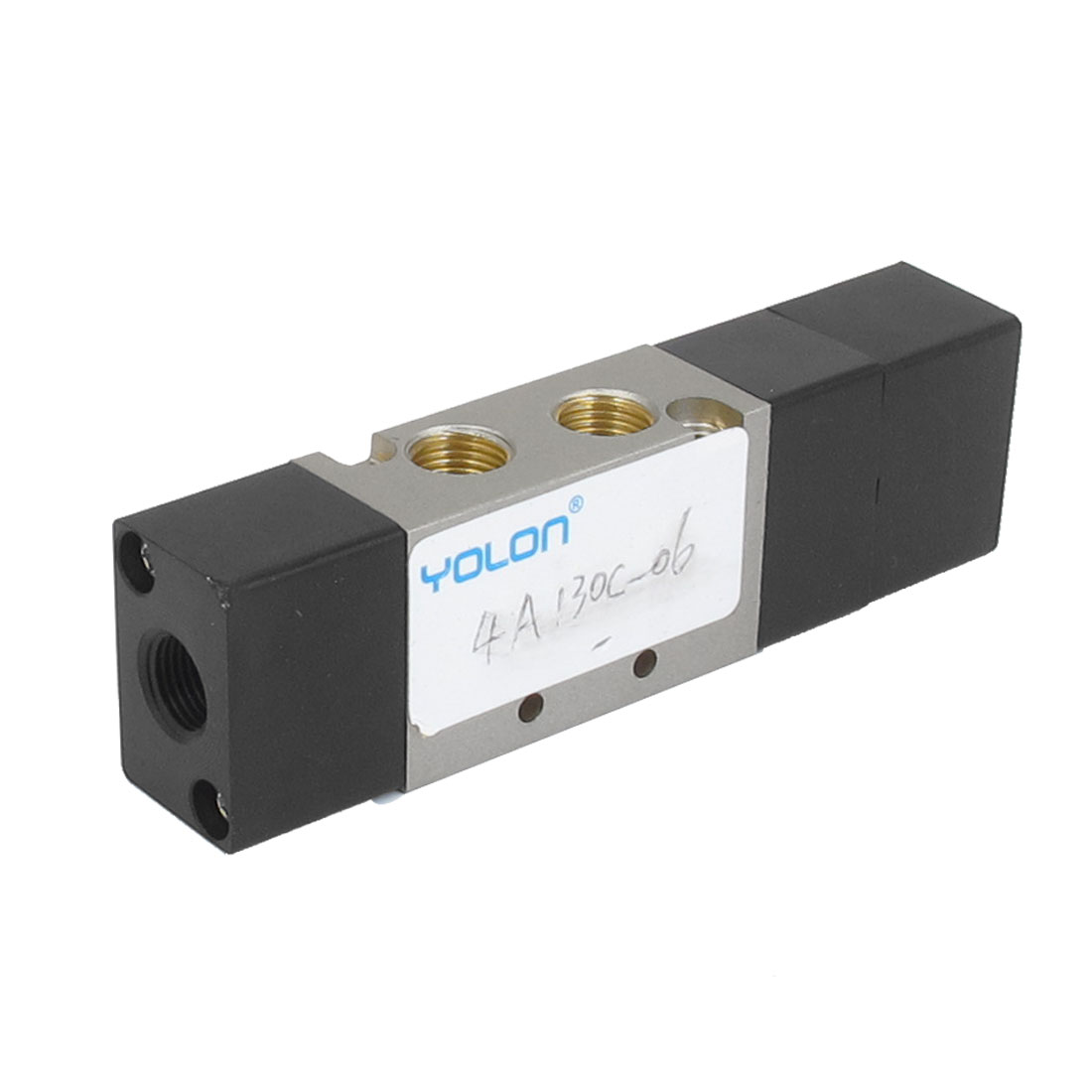 130C-06 5 Way 2 Position 1/8 BSP Female Thread Air Gas Pneumatic Solenoid Valve
