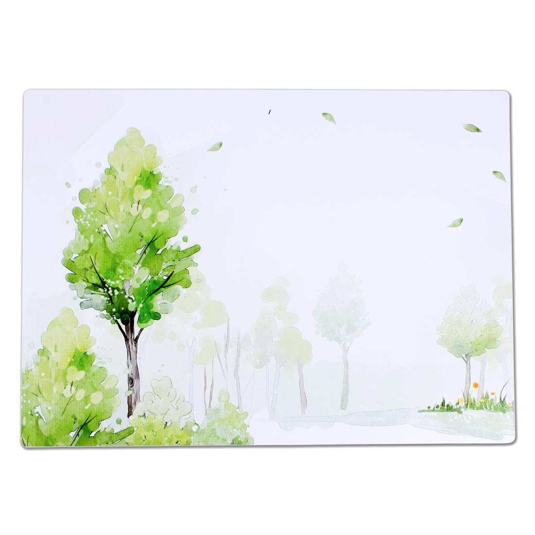 New Green Tree Pattern Heat Resistance Placemat Desk Table Coaster
