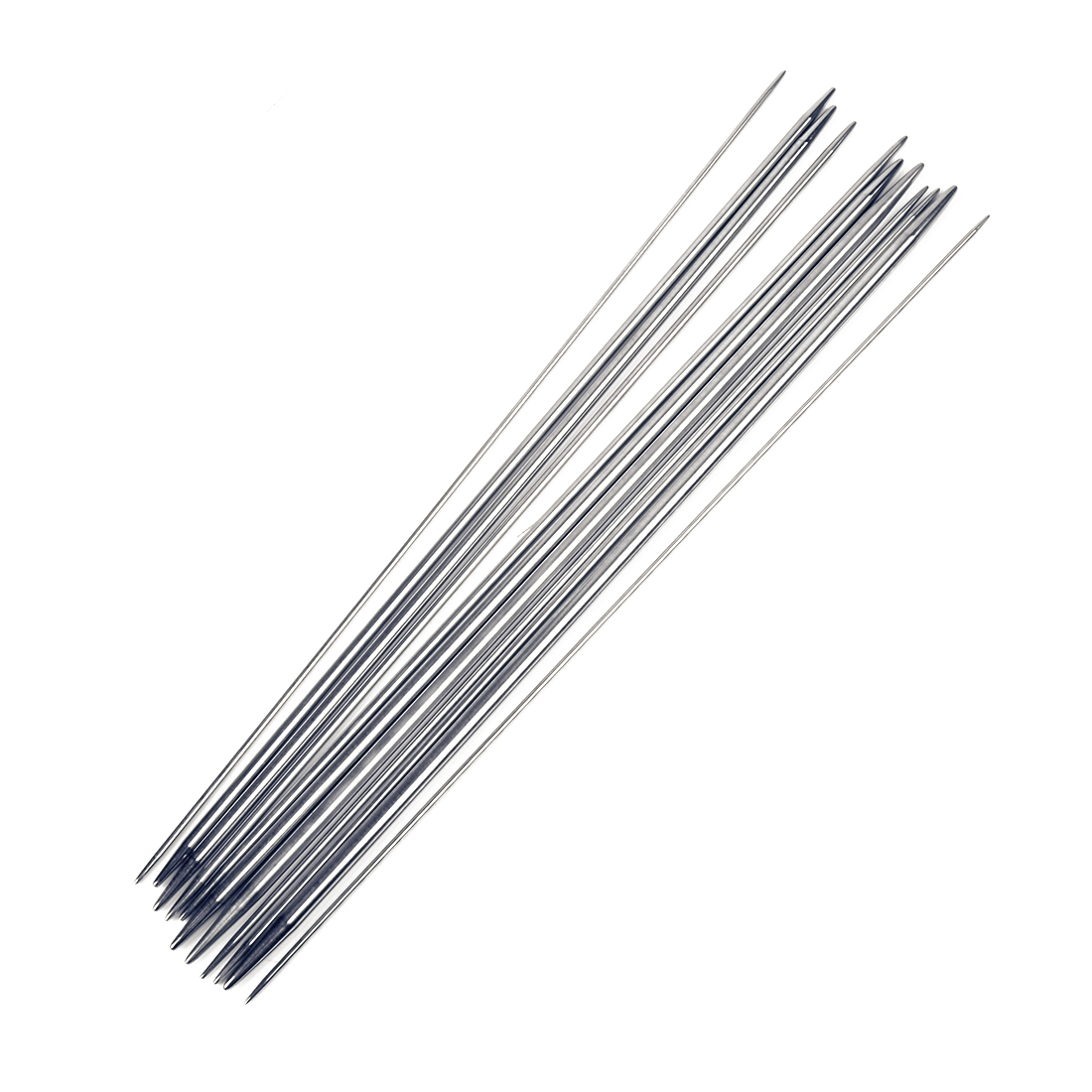Stainless Steel Double Pointed Knitting Needles Pins 1.5mm - 5mm Set 44 in 1
