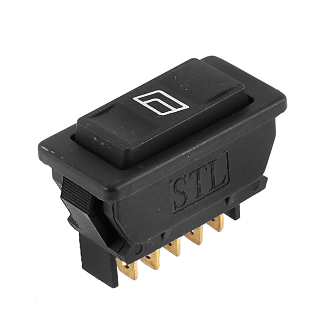 DC 12V 20A 5 Pins Momentary Power Window Switch for Automobile