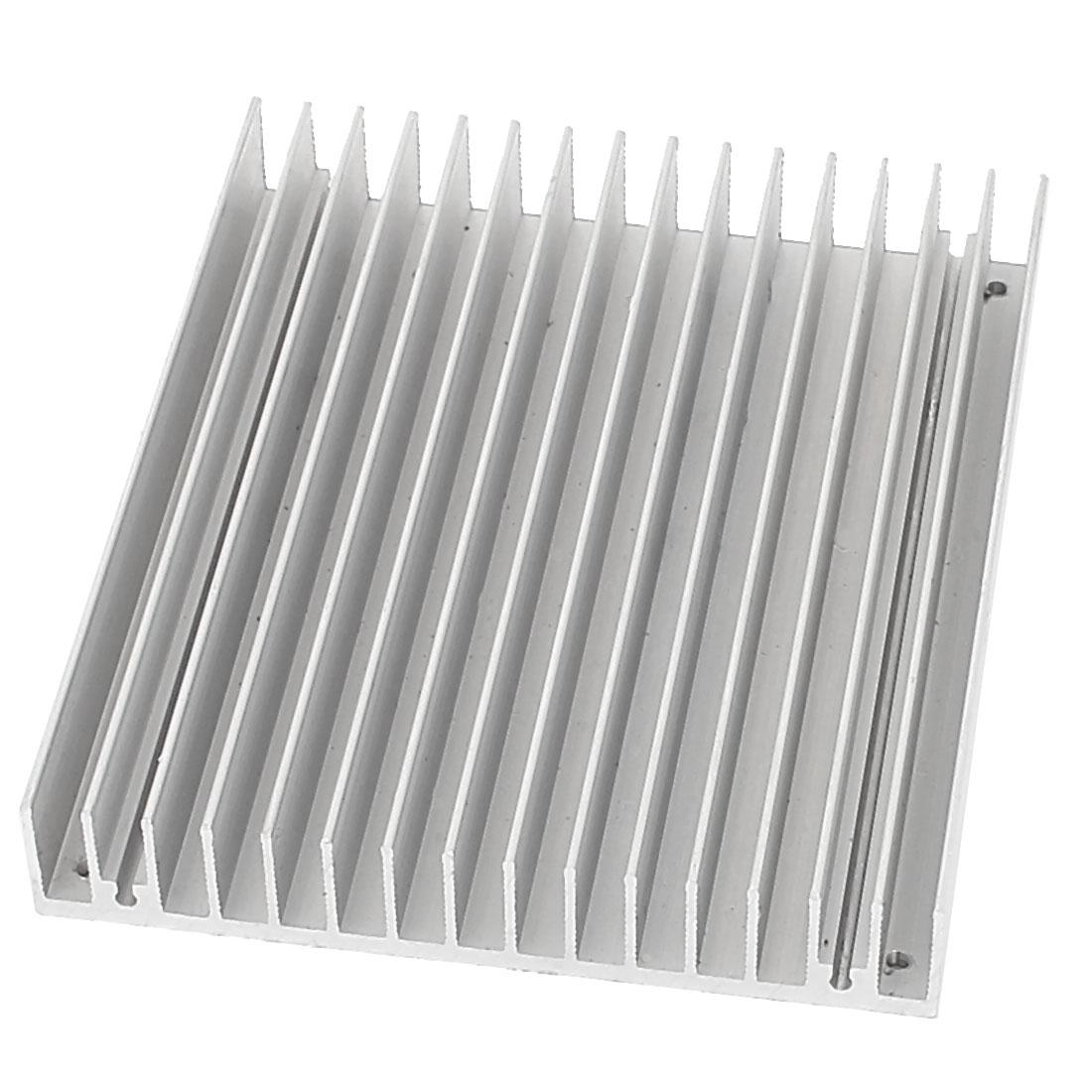120 x 100 x 18mm Aluminium Heat Diffusion Heatsink Cooling Fin
