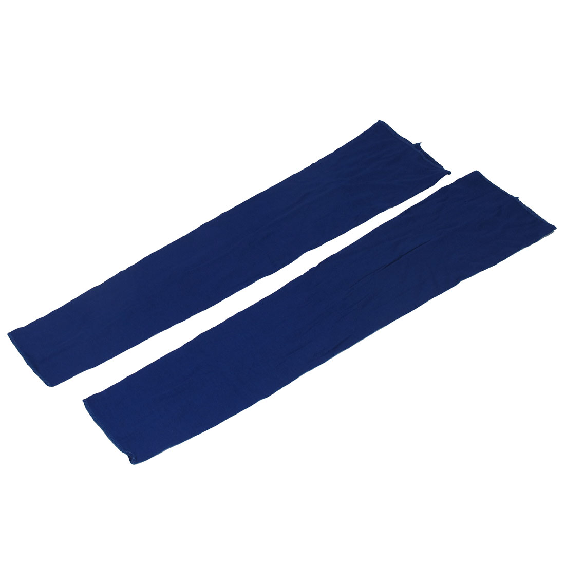 Unisex Stretchy Outdoor Activity UV Skin Cover Sun Protection Arm Sleeves Royal Blue