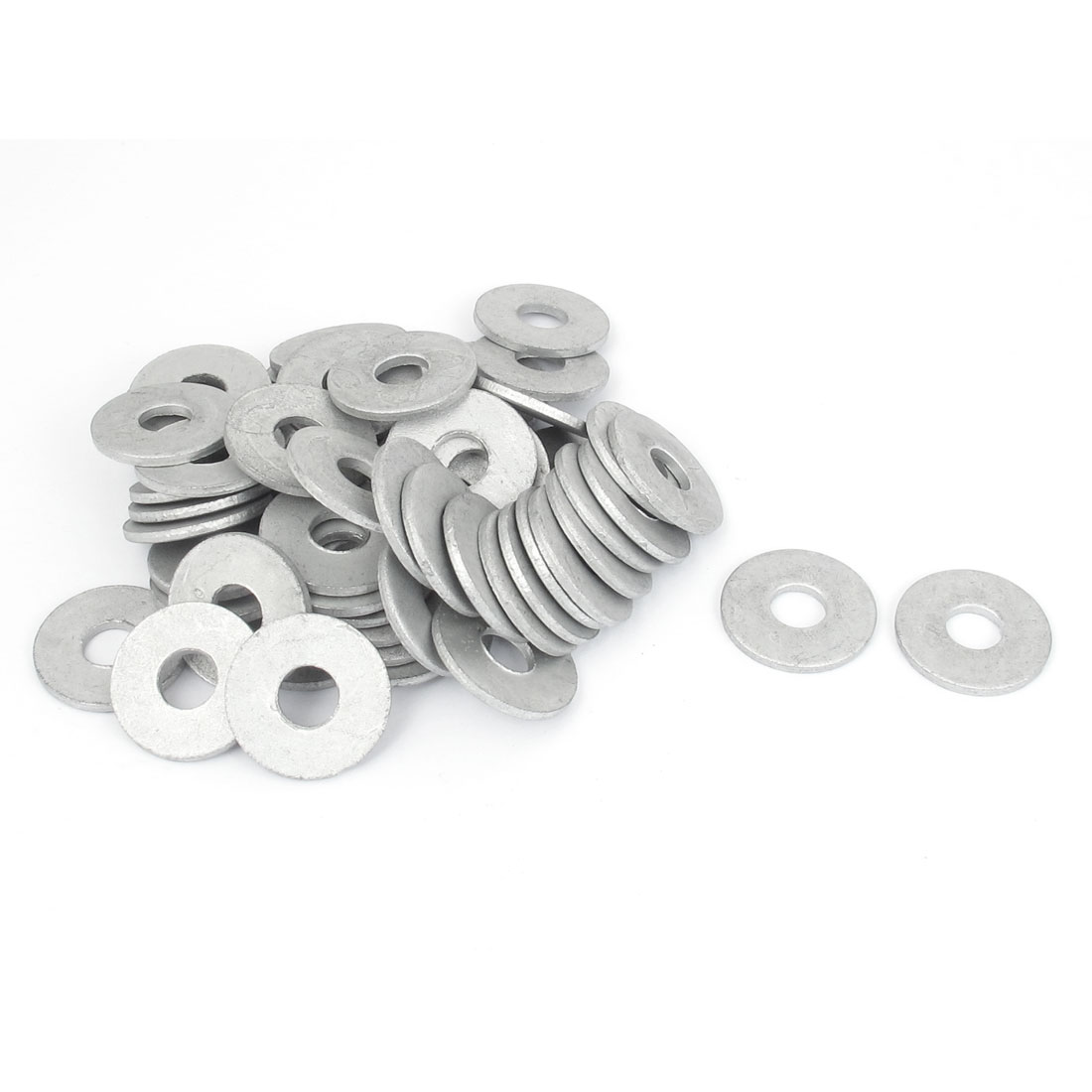60Pcs M8x24mmx2mm Stainless Steel Metric Round Flat Washer for Bolt Screw