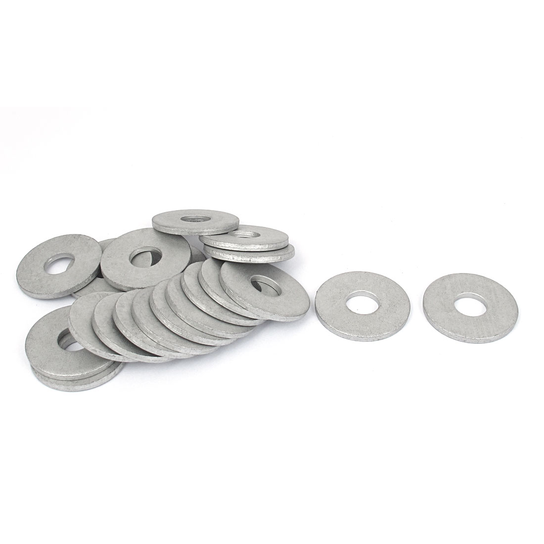 20Pcs M12x37mmx3mm Stainless Steel Metric Round Flat Washer for Bolt Screw