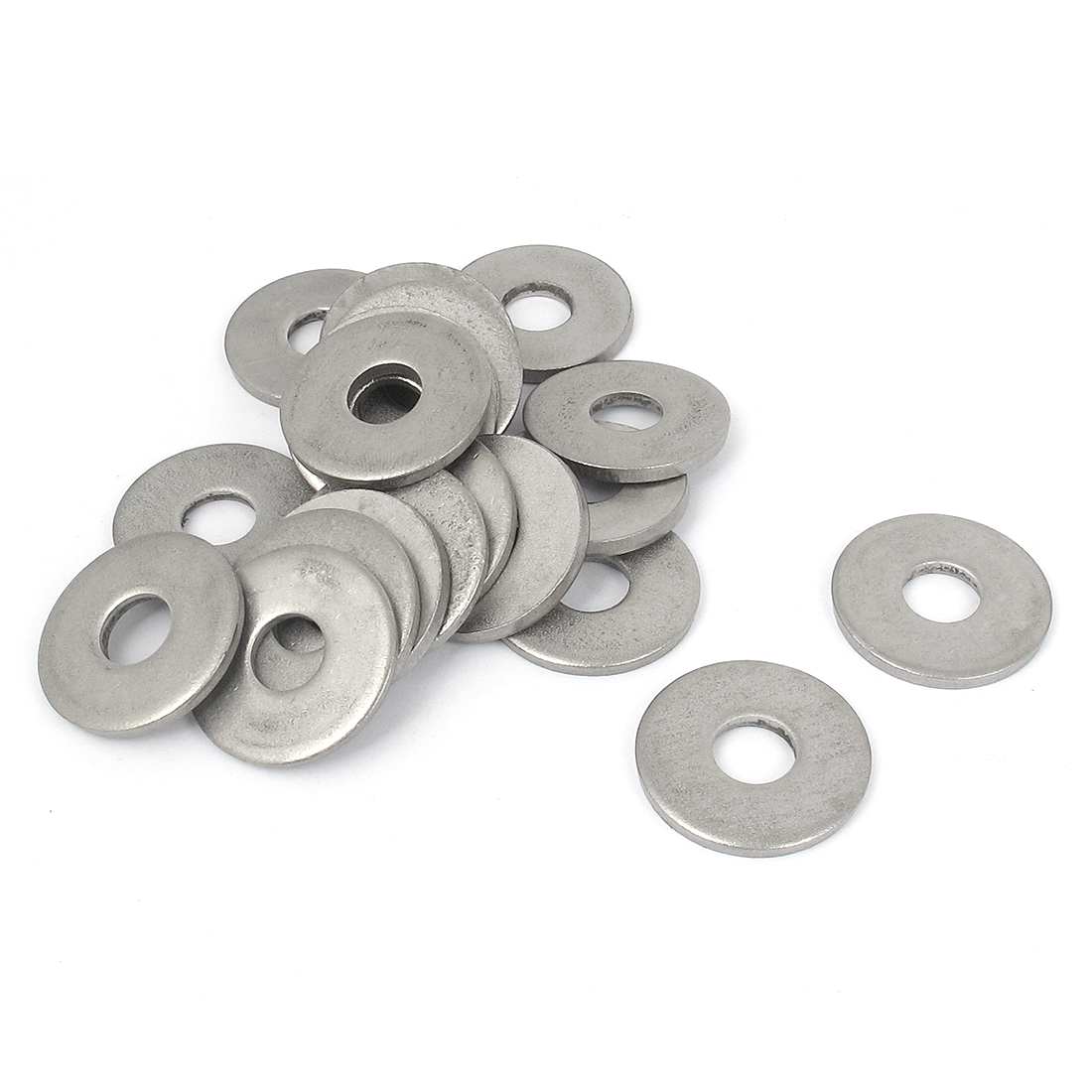 20Pcs M10x30mmx3mm Stainless Steel Metric Round Flat Washer for Bolt Screw