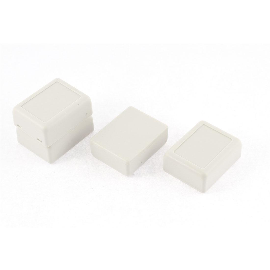 46mmx36mmx18mm Dustproof IP65 Plastic Enclosure Case DIY Junction Box 4 Pcs