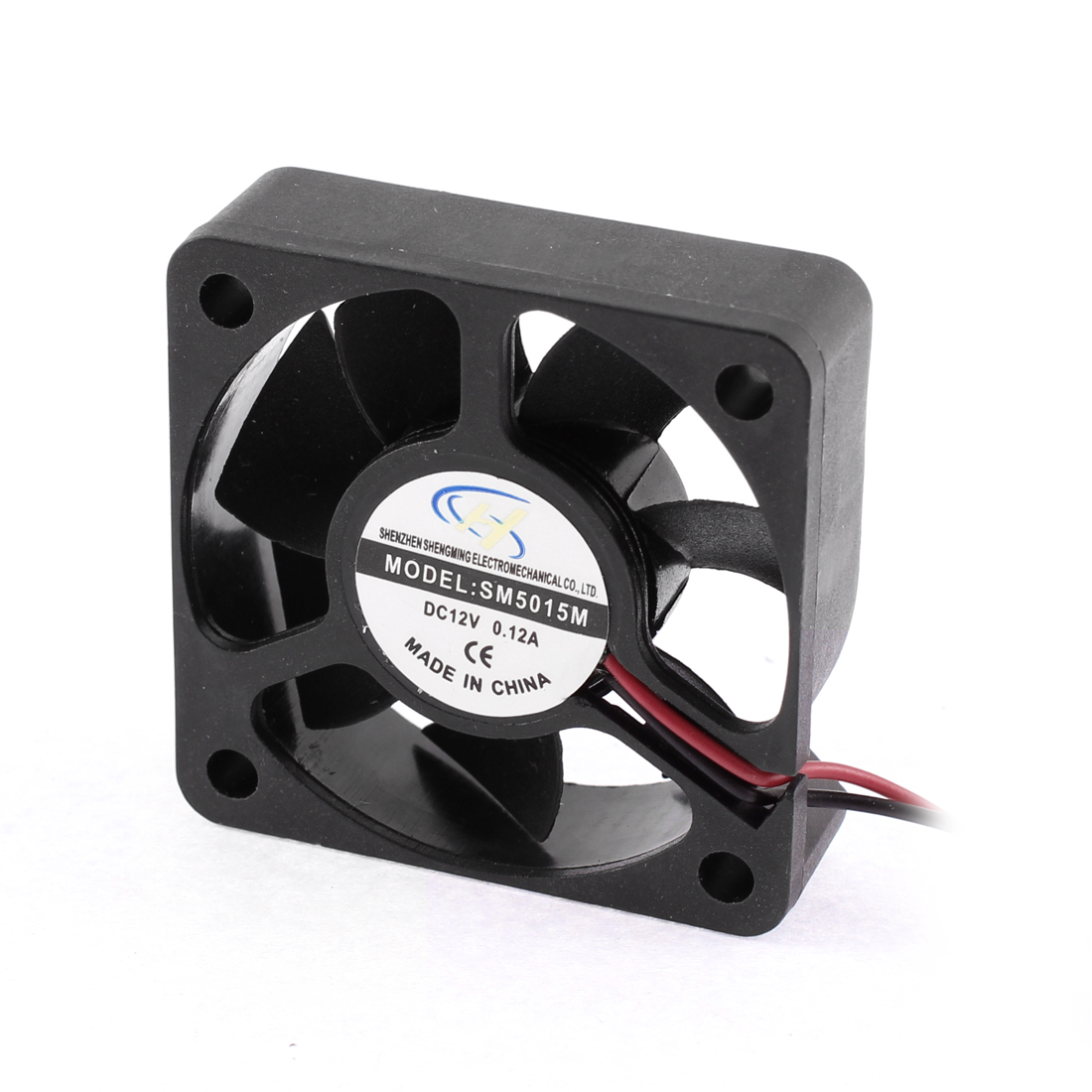DC 12V 0.12A Computer PC CPU Silent Cooling Case Fan 50mm x 50mm x 15mm