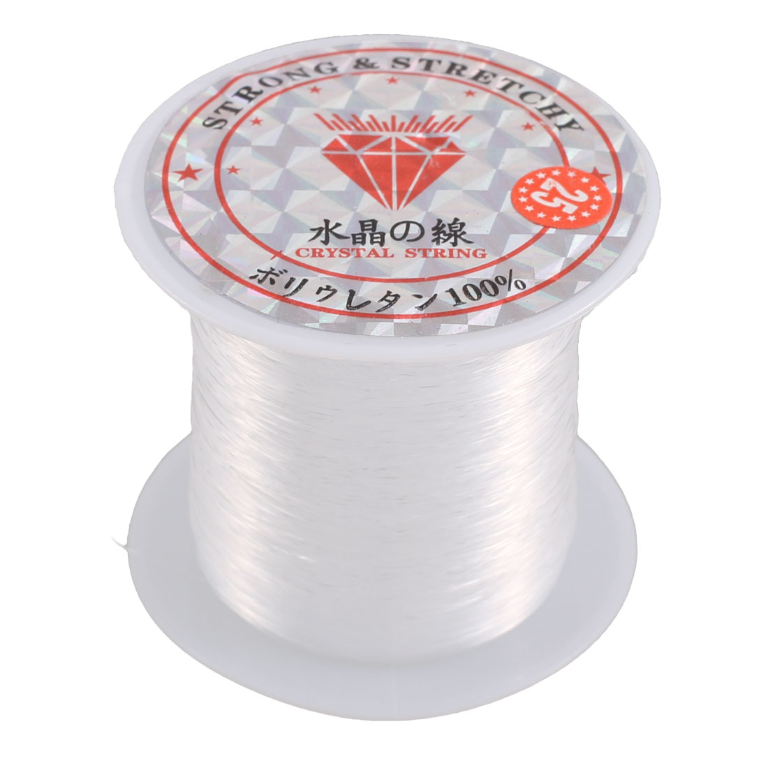 Bracelet Making String Beading Tool Thread Cord Roll Clear 120M Length