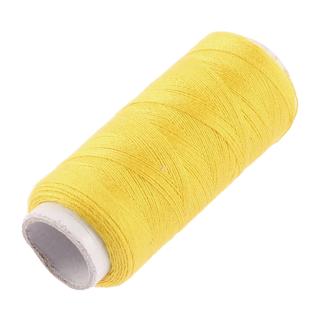 Embroidering Stitching Sewing Thread String Spool Yellow