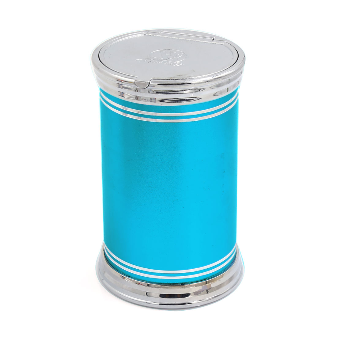 Portable Blue LED Light Car Auto Ashtray Cigarette Ash Holder Cup 11.5cm x 7cm
