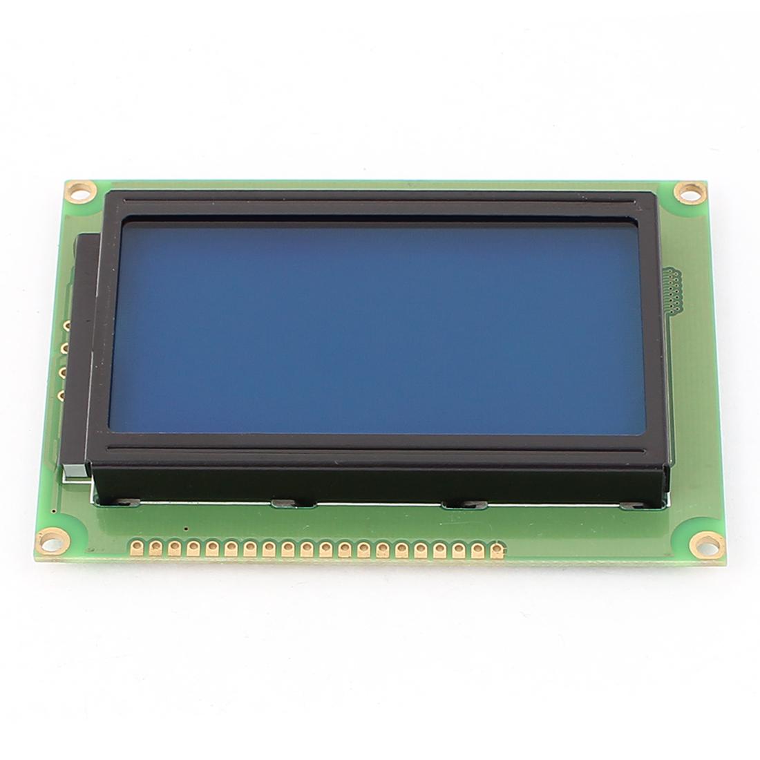 "LCD12864 Display Dot matrix 3.2"" LCD Screen DC 5V Module for MCU"